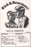 Product Image: Rick & Rosemary - Rick & Rosemary