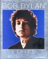 Product Image: Bob Dylan - Lyrics 1962-2001