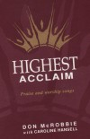 Product Image: Don McRobbie, Caroline Hansell - Highest Acclaim