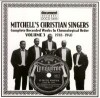 Product Image: Mitchell's Christian Singers - Complete Recorded Works In Chronological Order Vol 3 1938-1940