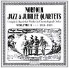 Product Image: Norfolk Jubilee Quartet - Norfolk Jazz And Jubilee Quartets Complete Recorded Works In Chronological Order Vol 1 1921-1923