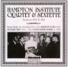 Product Image: Hampton Institute Quartet & Sextette - Complete Recorded Works In Chronological Order 1937-1942