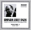 Product Image: Birmingham Jubilee Singers - Complete Recorded Works In Chronological Order Vol 1 1926-1927