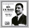 Product Image: Rev F W McGee - The Complete Recorded Works in Chronological Order  Vol 1 1927-1929