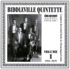 Product Image: Biddleville Quintette - Complete Recorded Works In Chronologicl Order Vol 1 1926-1929