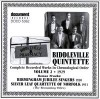 Product Image: Biddleville Quintette, Birmingham Jubilee Singers, Silver Leak Quartette Of Norf - Complete Recorded Works In Chronological Order Vol 2 1929