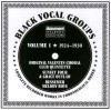 Product Image: Original Valentin Choral Club Quintette, Sunset Four, Grace Outlaw, Bessemer Mel - Black Vocal Groups Vol 1 1924-1930 Complete Recorded Works In Chronological Order