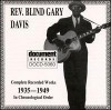 Product Image: Rev Blind Gary Davis - Complete Recorded Works 1935-1949