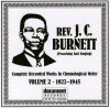 Product Image: Rev J C Burnett - Complete Recorded Works In Chronological Order Vol 2 1927-1945