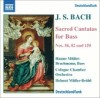 Product Image: J S Bach, Hanno Müller-Brachmann, Cologne Chamber Orchestra, Helmut Müller-Brühl - Sacred Cantatas For Bass