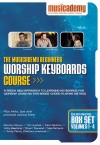 Musicademy - Worship Keyboard Course: Beginners Box Set Vols 1-4
