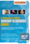 Musicademy - Worship Keyboard Course: Intermediate Box Set Vols 1-3