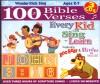 Product Image: Wonder Kids - 100 Bible Verses Every Kid Can Sing 'n' Learn