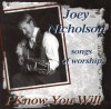 Product Image: Joey Nicholson - I Know You Will
