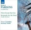 Product Image: Robert Parsons, Voces Cantabiles, Barnaby Smith - First Great Service, Responds For The Dead