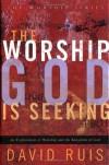Product Image: David Ruis - The Worship God is Seeking