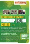 Product Image: Musicademy - Worship Drums Course: Intermediate Box Set Vol 1-3