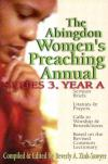 Beverly A. Zink-Sawyer - The Abingdon Women's Preaching Annual: Series 3, Year A
