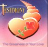 Product Image: Testimony - The Greatness Of Your Love