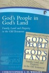 Christopher J. H. Wright - God's People in God's Land: Family, Land and Property in the Old Testament (Paternoster Digital Library)