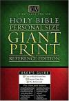 Bible KJV Personal Size Giant Print Reference Edition