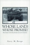 Gary Burge - Whose Land? Whose Promise?