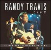 Product Image: Randy Travis - Live: It Was Just A Matter Of Time