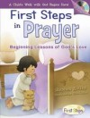 Product Image: Stephen Elkins - First Steps In Prayer: Beginning Lessons Of God's Love with CD (Audio) (First Steps in Faith)