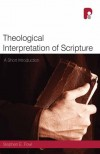 Stephen E Fowl - Theological Interpretation Of Scripture