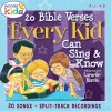 Product Image: Wonder Kids - 20 Bible Verses Every Kid Can Sing & Know