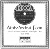 Product Image: Alphabetical Four - Complete Recorded Works In Chronological Order 1938-1943