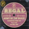 Product Image: Salvation Army Heritage Series - Army Of The Brave: Favourites From The 78rpm Era Vol. 2