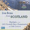 Various - Live Brass From Scotland: Highlights Of The 2003 Scottish Open Championships