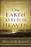 Warren W Wiersbe - On Earth As It Is In Heaven