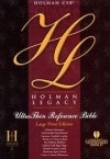 Not Available - Holman Legacy Ultrathin Reference Bible Large